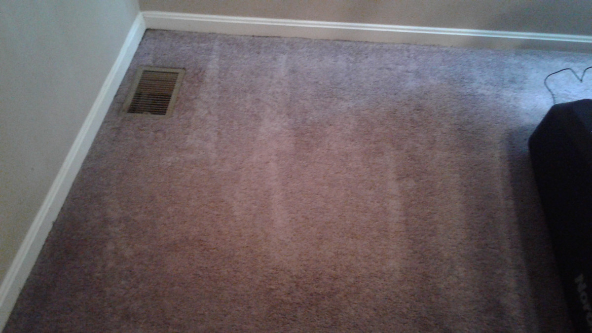 residential carpet cleaning job unknown stain. Black Bedroom Furniture Sets. Home Design Ideas