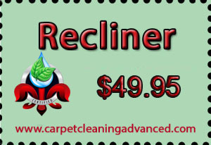 Recliner Upholstery Cleaning Service